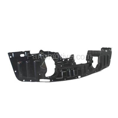 Aftermarket Replacement - ESS-1502 08-15 Lancer Front Engine Splash Shield Under Cover Undercar MI1228113 5379A537 - Image 3