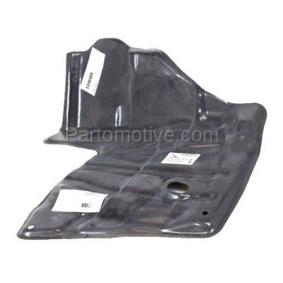 Aftermarket Replacement - ESS-1582L 88-92 Corolla Front Engine Splash Shield Under Cover w/Manual Trans Driver Side - Image 2