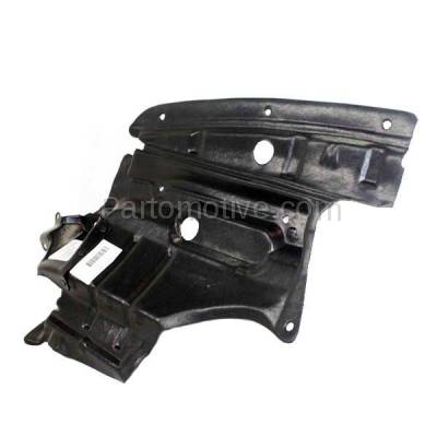 Aftermarket Replacement - ESS-1532R Front Engine Splash Shield Under Cover Fits 00-01 Maxima Right Side 758962Y000 - Image 3