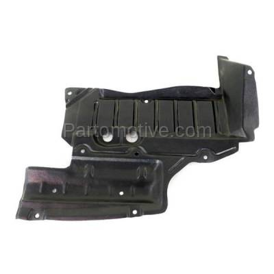 Aftermarket Replacement - ESS-1540L Front Engine Splash Shield Under Cover Fits 93-97 Altima Driver Side 758991E400 - Image 1