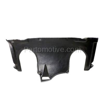 Aftermarket Replacement - ESS-1469 00-06 S-Class Rear Engine Splash Shield Under Cover Guard MB1228113 2205244130 - Image 1