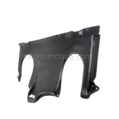 Aftermarket Replacement - ESS-1469 00-06 S-Class Rear Engine Splash Shield Under Cover Guard MB1228113 2205244130 - Image 2