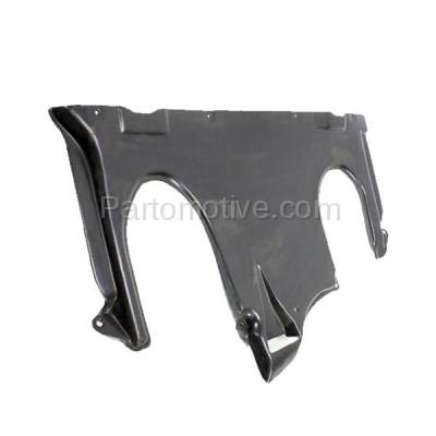 Aftermarket Replacement - ESS-1469 00-06 S-Class Rear Engine Splash Shield Under Cover Guard MB1228113 2205244130 - Image 3