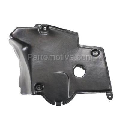 Aftermarket Replacement - ESS-1471L 92-99 S-Class Rear Engine Splash Shield Under Cover Guard Driver Side 1405241530 - Image 1