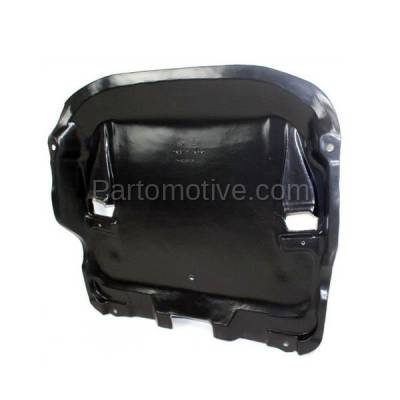 Aftermarket Replacement - ESS-1456 00-06 S-Class Center Engine Splash Shield Under Cover Guard MB1228125 2205240730 - Image 2