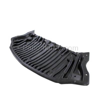 Aftermarket Replacement - ESS-1478 10-13 E-Class RWD Front Engine Splash Shield Under Cover w/o AMG Pkge 2125202323 - Image 2