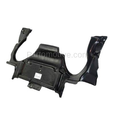Aftermarket Replacement - ESS-1464 03-07 C-Class Rear Engine Splash Shield Under Cover Guard MB1228124 2035243930 - Image 2