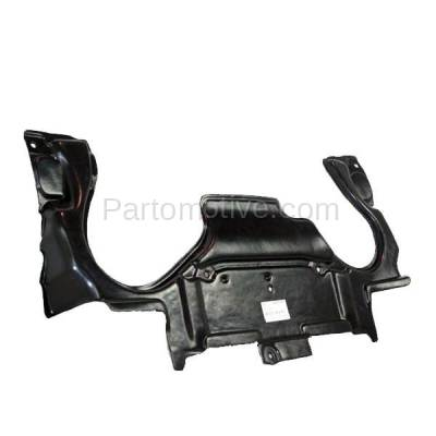 Aftermarket Replacement - ESS-1464 03-07 C-Class Rear Engine Splash Shield Under Cover Guard MB1228124 2035243930 - Image 3