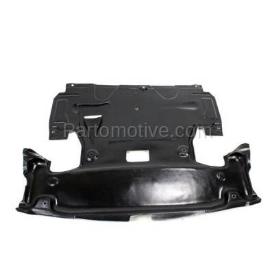 Aftermarket Replacement - ESS-1465 03-07 C-Class Front Engine Splash Shield Under Cover Guard MB1228123 2035243330 - Image 1