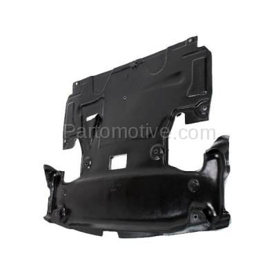 Aftermarket Replacement - ESS-1465 03-07 C-Class Front Engine Splash Shield Under Cover Guard MB1228123 2035243330 - Image 2