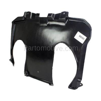 Aftermarket Replacement - ESS-1468 00-06 S-Class Rear Engine Splash Shield Under Cover Guard MB1228117 2205246330 - Image 2