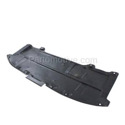 Aftermarket Replacement - ESS-1413 2013-2016 Mazda CX-5 (Sport Utility 4-Door) (2.0 & 2.5 Liter) Front Engine Under Cover Splash Shield Undercar Guard Air Deflector Plastic - Image 2