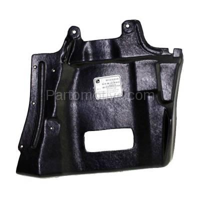Aftermarket Replacement - ESS-1495L 03-06 Outlander Front Engine Splash Shield Under Cover LH Driver Side MI1228124 - Image 1