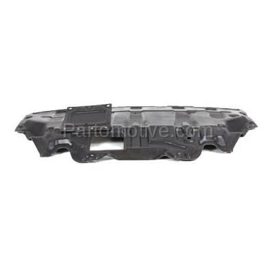 Aftermarket Replacement - ESS-1337 2007-2013 Infiniti G25, G35, G37, EX35, EX37 & 2014-2017 QX50 & 2014 Q40 & 2014-2015 Q60 (AWD) Front Upper Engine Splash Shield - Image 2