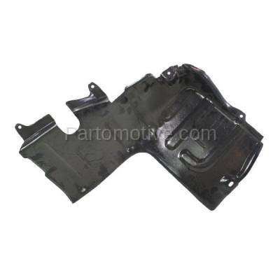 Aftermarket Replacement - ESS-1320L Front Engine Splash Shield Under Cover For 95-99 Accent LH Driver Side HY1228102 - Image 3