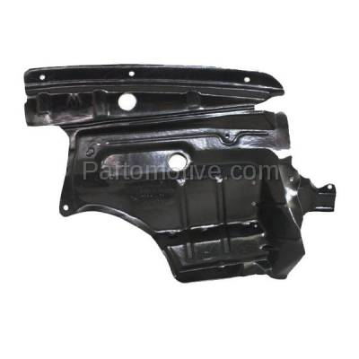 Aftermarket Replacement - ESS-1332R Engine Splash Shield Under Cover Guard For 00-01 I30 Passenger Side 758962Y900 - Image 2