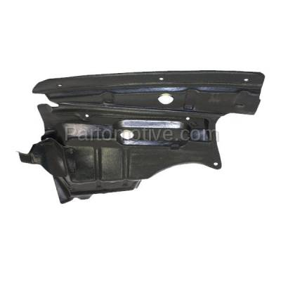 Aftermarket Replacement - ESS-1332R Engine Splash Shield Under Cover Guard For 00-01 I30 Passenger Side 758962Y900 - Image 3