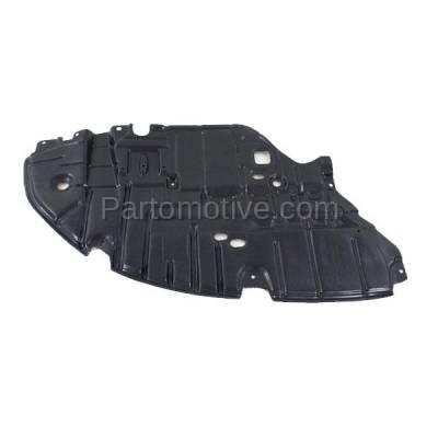 Aftermarket Replacement - ESS-1380L 2013-2015 Lexus ES300h & ES350 (2.5 & 3.5 Liter) Front Engine Under Cover Splash Shield Undercar Guard Plastic Left Driver Side - Image 1