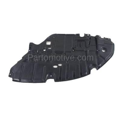Aftermarket Replacement - ESS-1380R 2013-2015 Lexus ES300h & ES350 (2.5 & 3.5 Liter) Front Engine Under Cover Splash Shield Undercar Guard Plastic Right Passenger Side - Image 1