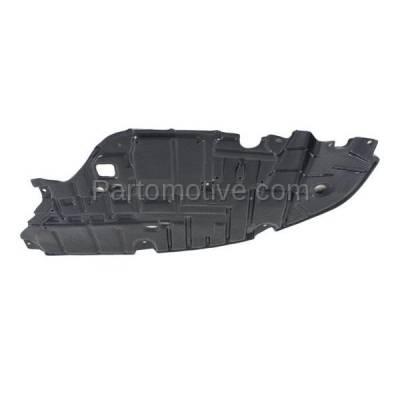 Aftermarket Replacement - ESS-1380R 2013-2015 Lexus ES300h & ES350 (2.5 & 3.5 Liter) Front Engine Under Cover Splash Shield Undercar Guard Plastic Right Passenger Side - Image 2