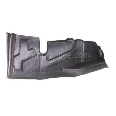 Aftermarket Replacement - ESS-1365R Front Engine Splash Shield Under Cover For 04-07 Spectra Right Passenger Side RH - Image 1