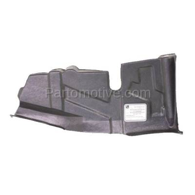 Aftermarket Replacement - ESS-1365R Front Engine Splash Shield Under Cover For 04-07 Spectra Right Passenger Side RH - Image 3