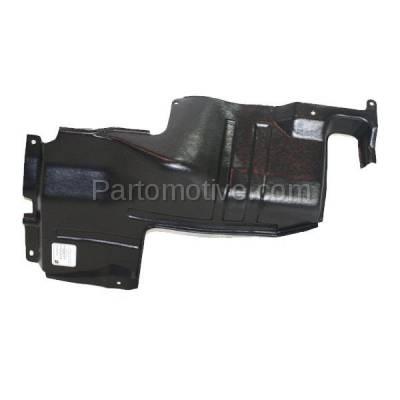 Aftermarket Replacement - ESS-1366L Engine Splash Shield Under Cover For 98-01 Sephia 00-04 Spectra Left Driver Side - Image 1