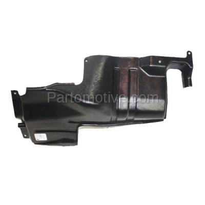 Aftermarket Replacement - ESS-1366L Engine Splash Shield Under Cover For 98-01 Sephia 00-04 Spectra Left Driver Side - Image 3