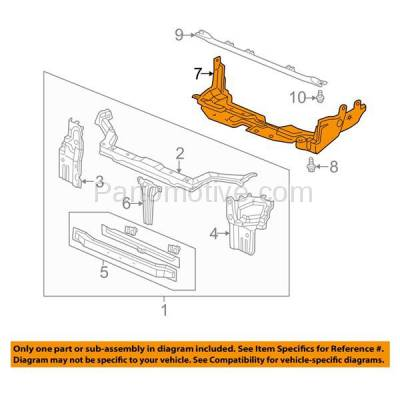 Aftermarket Replacement - ESS-1268 97-01 CRV Front Engine Splash Shield Under Cover Undercar HO1228101 74111S10000 - Image 3
