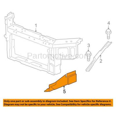 Aftermarket Replacement - ESS-1220R 05-08 Grand Prix 06-09 Impala Engine Splash Shield Under Cover RH Passenger Side - Image 3