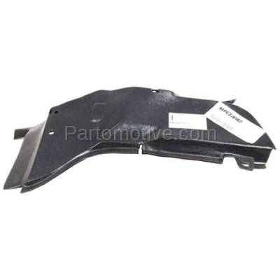 Aftermarket Replacement - ESS-1224L 06-11 Chevy HHR Engine Splash Shield Under Cover Driver Side GM1250132 22714699 - Image 1
