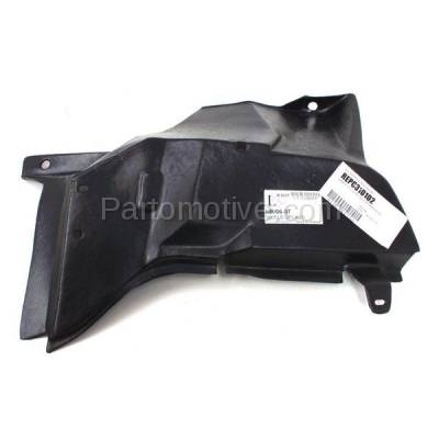 Aftermarket Replacement - ESS-1224L 06-11 Chevy HHR Engine Splash Shield Under Cover Driver Side GM1250132 22714699 - Image 2