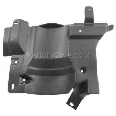 Aftermarket Replacement - ESS-1193L 95-99 Chevy Cavalier MT Engine Splash Shield Under Cover Guard Left Driver Side - Image 1