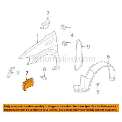 Aftermarket Replacement - ESS-1182L 97-05 Venture Van Front Engine Splash Shield Under Cover LH Driver Side 10238389 - Image 3