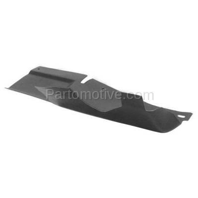 Aftermarket Replacement - ESS-1186L 00-02 Olds Intrigue Front Engine Splash Shield Under Cover Driver Side 10409441 - Image 2