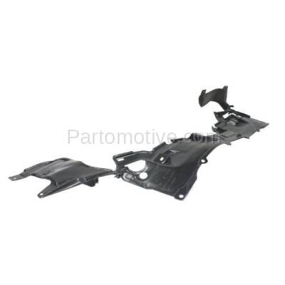 Aftermarket Replacement - ESS-1260 12-15 Civic & 13-15 ILX Engine Splash Shield Under Cover HO1228136 74111TR3A00 - Image 2