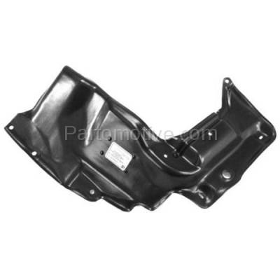 Aftermarket Replacement - ESS-1180L 03-08 Vibe Automatic Trans. Front Engine Splash Shield Under Cover Driver Side - Image 1