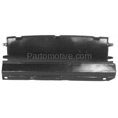 Aftermarket Replacement - ESS-1165 00-04 Focus Front Engine Splash Shield Under Cover Undercar FO1228100 YS4Z8310HB - Image 1