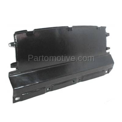 Aftermarket Replacement - ESS-1165 00-04 Focus Front Engine Splash Shield Under Cover Undercar FO1228100 YS4Z8310HB - Image 2