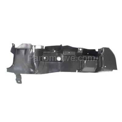 Aftermarket Replacement - ESS-1213R 08-12 Malibu V6 Engine Splash Shield Under Cover Right Passenger Side GM1228123 - Image 1