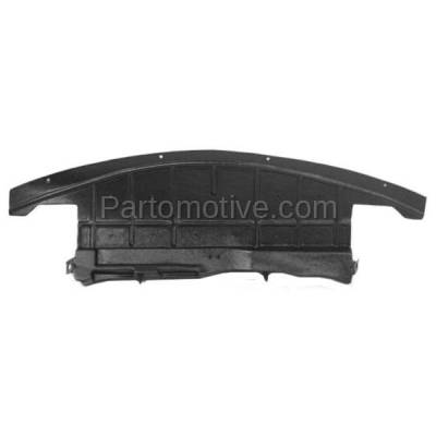 Aftermarket Replacement - ESS-1173 07-09 Aura Center Engine Splash Shield Under Cover Undercar GM1228119 25784696 - Image 1