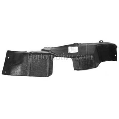 Aftermarket Replacement - ESS-1215L 95-01 Metro Manual Trans. Engine Splash Shield Under Cover Driver Side 30012896 - Image 1