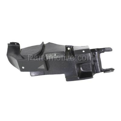 Aftermarket Replacement - ESS-1176L 06-10 G6 2.4L Front Engine Splash Shield Under Cover Left Driver Side 15864189 - Image 2