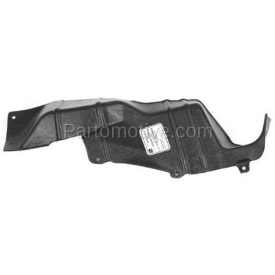 Aftermarket Replacement - ESS-1215R 95-01 Metro Engine Splash Shield Under Cover Right Hand Passenger Side GM1251138 - Image 1