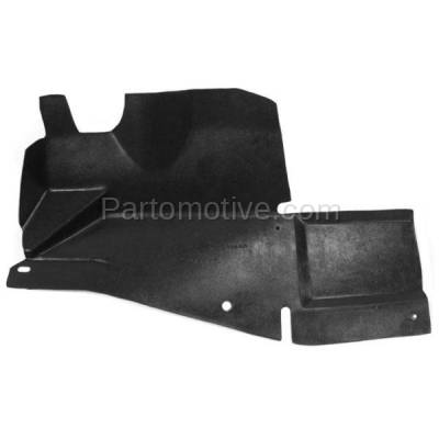 Aftermarket Replacement - ESS-1232L 00-11 Chevy Impala Engine Splash Shield Under Cover LH Left Driver Side 10349809 - Image 1