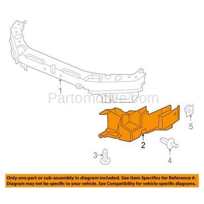 Aftermarket Replacement - ESS-1177L 05-10 G6 Front Engine Splash Shield Under Cover Guard Left Driver Side 15809317 - Image 3