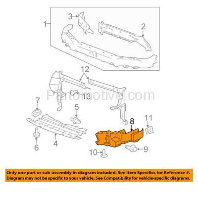 Aftermarket Replacement - ESS-1204L 04-05 Malibu 2.2L Outer Engine Splash Shield Under Cover LH Driver Side 22737071 - Image 3