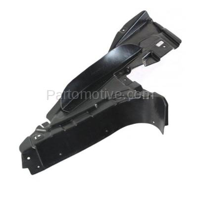 Aftermarket Replacement - ESS-1059R 07-10 3-Series Convertible V6 Engine Splash Shield Under Cover RH Passenger Side - Image 2