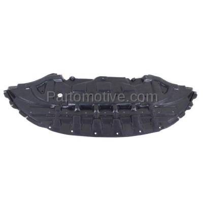 Aftermarket Replacement - ESS-1131 13-14 Mustang Front Engine Splash Shield Under Cover/Stone Deflector FO1228130 - Image 2