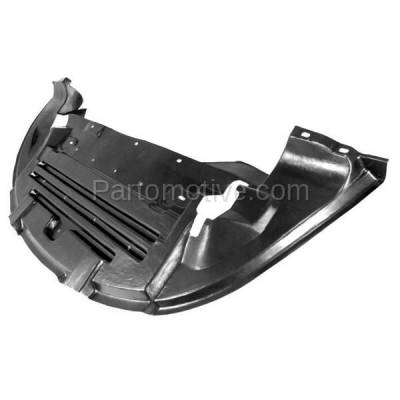 Aftermarket Replacement - ESS-1113 01-02 Cougar Coupe Fronet Engine Splash Shield Under Cover FO1228109 1S8Z8327AA - Image 2
